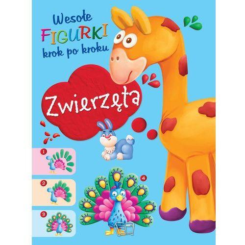 Książki dla dzieci, Zwierzęta Wesołe figurki - Praca zbiorowa (opr. broszurowa)