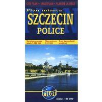 Przewodniki turystyczne, Plan miasta Szczecin 1:22 000, Police (opr. broszurowa)