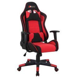Fotel obrotowy SIGNAL Zanda czarny-czerwony, Fotel gamingowy dla gracza! DOSTAWA GRATIS