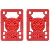 Pozostały skating, części zamienne PIG WHEELS - Pileses Soft Rsr/Shock Red (MULTI) rozmiar: 1/8