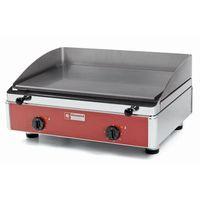 Grille gastronomiczne, Płyta grillowa elektryczna gładka nastawna | 555x400mm | 4000W