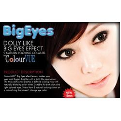 ColourVue Big Eyes Kolor- kwartalne - zerówki