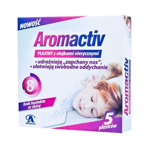 Leki na przeziębienie i grypę, Aromactiv plast.x 5