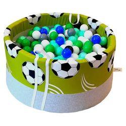 Suchy basen z piłeczkami dla dzieci BabyBall piłka nożna