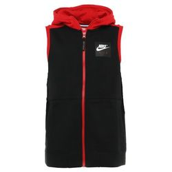 Nike Performance HOODIE VEST AIR Bluza rozpinana black/university red