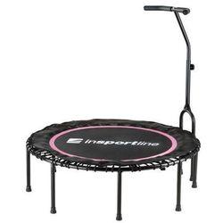 Trampolina fitness Cordy Jumping Fitness z uchwytem inSPORTline - różowy