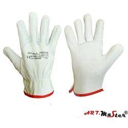 Rękawice ochronne ze skóry licowej koziej w naturalnym kolorze art master