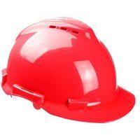 Ochronne nakrycia głowy, Hełm ochronny wentylowany SH-200 Sampreys w kolorze czerwonym