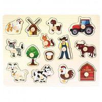 Puzzle, Dřevěné puzzle farma neuveden