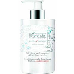 Bielenda Professional REFRESHING HAND WASH SOAP WITH ANTIBACTERIAL EFFECT Odświeżające mydło do mycia rąk o działaniu antybakteryjnym