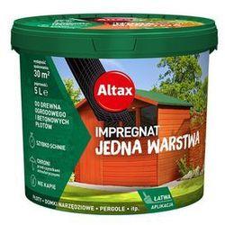 Altax Impregnat Do Drewna Ogrodowego 5L Kasztan