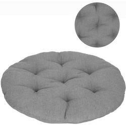 Poduszka ogrodowa 53 cm na huśtawkę bocianie gniazdo, fotel szary