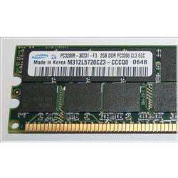 Pamięć RAM 2GB SAMSUNG DDR 400MHz PC-3200 ECC Registered DIMM M312L5720CZ3-CCCQ0