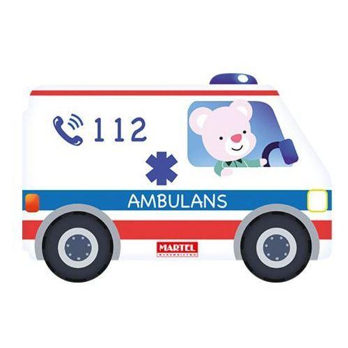 Książki dla dzieci, Wykrojnik - Ambulans (opr. kartonowa)
