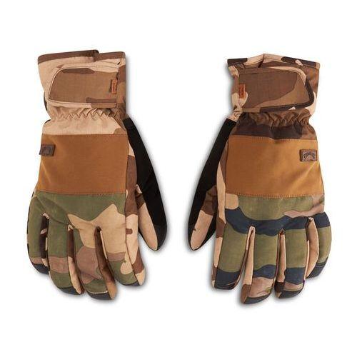 Rękawice ochronne, Rękawice snowboardowe BILLABONG - Kera Gloves U6GL02BIF0 Woodland Camo 2911