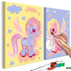 SELSEY Zestaw do malowania Magiczne jednorożce