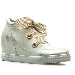 Sneakersy Venezia 1818 ARGE-BIA Srebrne lico