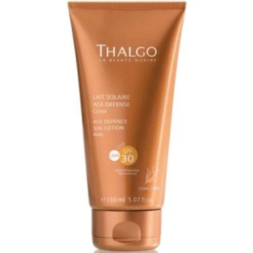 Kosmetyki do opalania, Thalgo AGE DEFENCE SUN LOTION SPF30 Przeciwzmarszczkowe mleczko do opalania SPF 30 (VT15033)