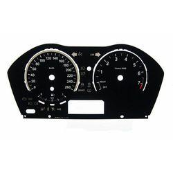 BMW F20, F22 - zamiennik tarcz licznika z MPH na km