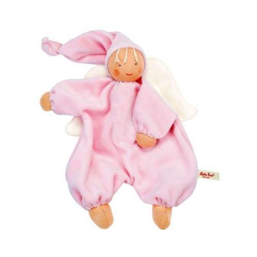 Lalki dla dzieci, KÄTHE KRUSE Organic Lalka Aniołek Gugguli kolor różowy 28 cm