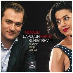 Franck, Dvorak, Grieg: Sonatas For Violin And Piano