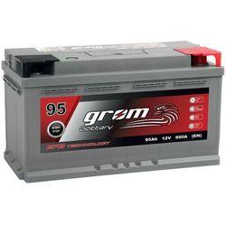 Akumulator GROM EFB START&STOP 95Ah 950A Prawy Plus DTR