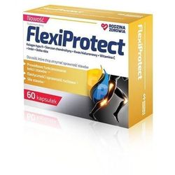 Rodzina Zdrowia, FlexiProtect, 60 kapsułek - Długi termin ważności! DARMOWA DOSTAWA od 39,99zł do 2kg!