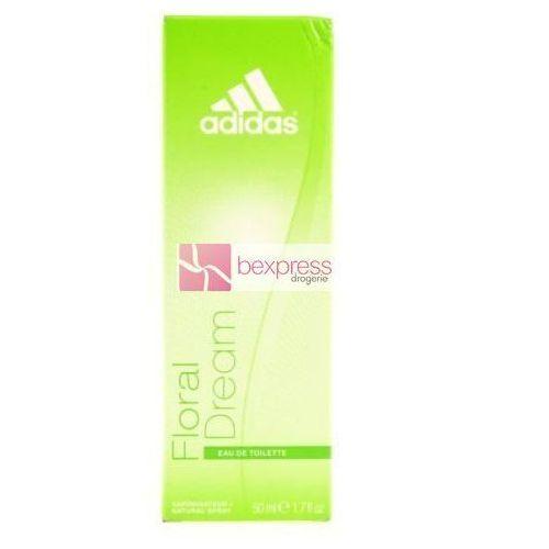 Wody toaletowe damskie, Adidas Floral Dream - (W) woda toaletowa 50ml