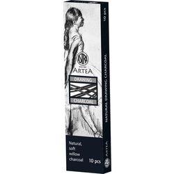 Węgiel naturalny rysunkowy 10szt. 3-6mm Astra