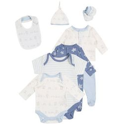 mothercare BOYS MY FIRST GIFT SET BABY Chusta pale blue