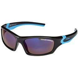 Alpina Flexxy Teen Glasses Kids, black-cyan 2019 Okulary przeciwsłoneczne dla dzieci Przy złożeniu zamówienia do godziny 16 ( od Pon. do Pt., wszystkie metody płatności z wyjątkiem przelewu bankowego), wysyłka odbędzie się tego samego dnia.