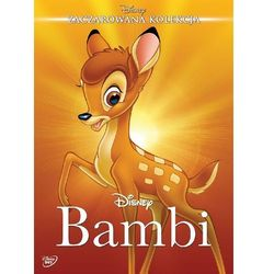 Zaczarowana kolekcja: Bambi (DVD) - David Hand DARMOWA DOSTAWA KIOSK RUCHU