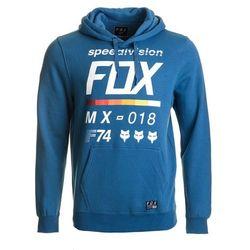 FOX bluza męska DISTRICT 2 PULLOVER XL niebieska - BEZPŁATNY ODBIÓR: WROCŁAW!