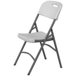Krzesło cateringowe składane 540x440x840, białe | HENDI, 810965