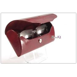 Elbląski przemysł skórzany Futerał na okulary etui naturalna skóra