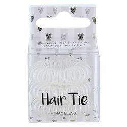 2K Hair Tie gumka do włosów 3 szt dla kobiet Clear