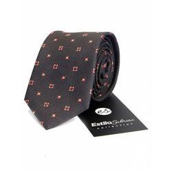 Męski krawat w kropki Estilo Sabroso Es03856