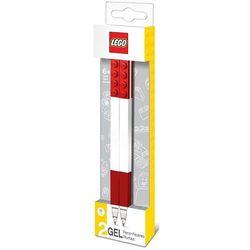 51675 DŁUGOPISY ŻELOWE 2 SZT CZERWONE - LEGO GADŻETY