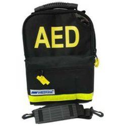Torba na defibrylator AED Lifeline z 7-letnią baterią- czarna