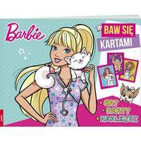 Książki dla dzieci, Barbie Baw się kartami FNK-101- bezpłatny odbiór zamówień w Krakowie (płatność gotówką lub kartą).
