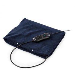 Klarstein Dr. Watson Heatzone XL dywanik grzejny 100W 75x50cm mikroplusz ciemnoniebieski