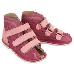 WOJTYŁKO 2AORT3R różowy, obuwie profilaktyczne dziecięce, rozmiary: 27-31 - Różowy
