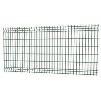 Przęsła i elementy ogrodzenia, Panel ogrodzeniowy 3D 123 x 250 cm oczko 7,5 x 20 cm drut 3,2 mm ocynk zielony