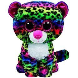 TY Beanie Boos Dotty - Kolorowy leopard, 24 cm