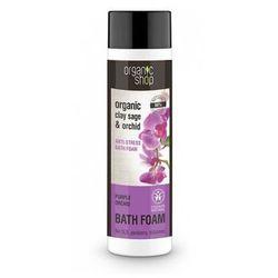 Organic Shop Płyn do kšpieli Antystresowy Purpurowa Orchidea BDIH 500 ml