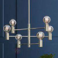 Lampy sufitowe, LAMPA wisząca CAPITAL 106418 Markslojd metalowa OPRAWA żarówki ŻYRANDOL zwis mosiądz