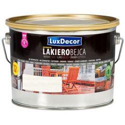 LUXDECOR- lakierobejca do drewna, biała, 2.5l