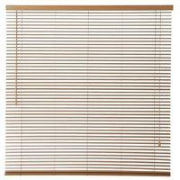 Żaluzje, Żaluzja drewniana Colours Cana 160 x 180 cm jasna brązowa