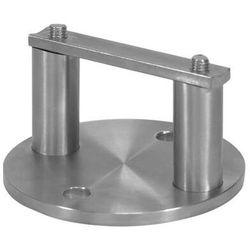 Mocowanie boczne słupka AISI304, D100/d33,7x2mm