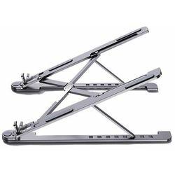 Składana podstawka stojak podpórka do laptopa MacBooka S (ekran od 11'' do 13,8'') szary